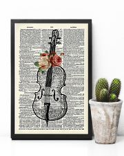 Cello and Flower 11x17 Poster lifestyle-poster-8