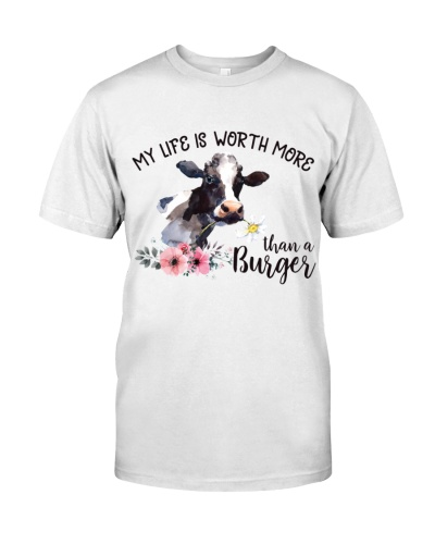 Vegan My life is worth more than a burger