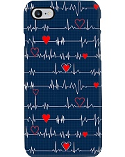 Heartbeat Red Heart Cardiologist Phone Case i-phone-7-case