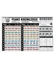Pianist Knowledge  17x11 Poster front