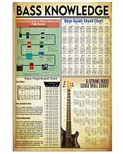 Bass Guitar Knowledge 11x17 Poster front