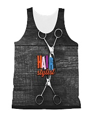 Hairstylist Fashion Name  All-over Unisex Tank thumbnail