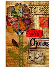 Sewing Today I Will Choose Joy 11x17 Poster front