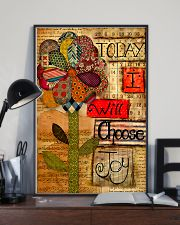 Sewing Today I Will Choose Joy 11x17 Poster lifestyle-poster-2