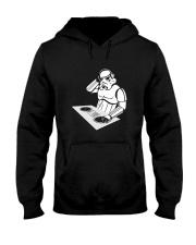 DJ - Unique T-shirt Hooded Sweatshirt thumbnail
