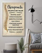 Chiropractic Side Effects Chiropractor 11x17 Poster lifestyle-poster-1