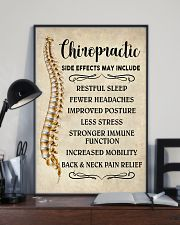 Chiropractic Side Effects Chiropractor 11x17 Poster lifestyle-poster-2