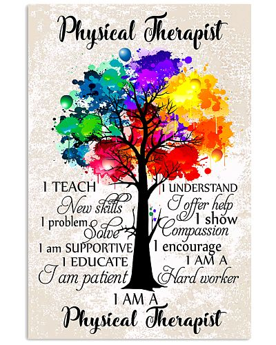 Physical Therapist Colorful Tree