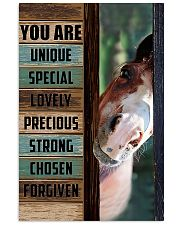 Horse Girl You are unique  11x17 Poster front