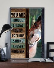 Horse Girl You are unique  11x17 Poster lifestyle-poster-2