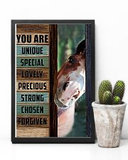 Horse Girl You are unique  11x17 Poster lifestyle-poster-8
