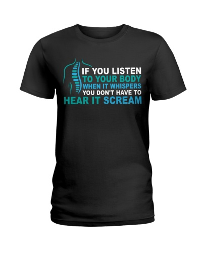 Chiropractic - Listen to your body when it whisper
