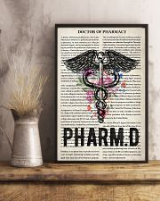 Pharmacist doctor of pharmacy 11x17 Poster lifestyle-poster-3