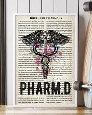 Pharmacist doctor of pharmacy 11x17 Poster lifestyle-poster-4