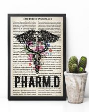 Pharmacist doctor of pharmacy 11x17 Poster lifestyle-poster-8