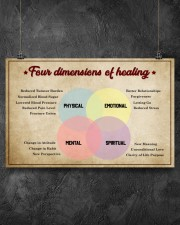 Social Worker Dimensions Of Healing 17x11 Poster aos-poster-landscape-17x11-lifestyle-12