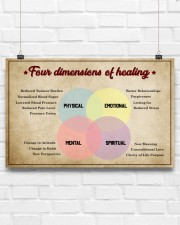 Social Worker Dimensions Of Healing 17x11 Poster aos-poster-landscape-17x11-lifestyle-17