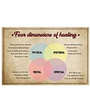Social Worker Dimensions Of Healing 17x11 Poster front