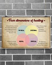 Social Worker Dimensions Of Healing 17x11 Poster poster-landscape-17x11-lifestyle-18
