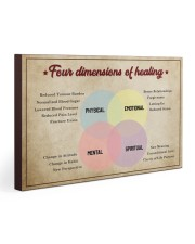 Social Worker Dimensions Of Healing 30x20 Gallery Wrapped Canvas Prints thumbnail