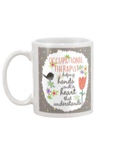 Occupational Therapist Helping Hands Mug back