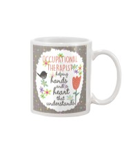 Occupational Therapist Helping Hands Mug front
