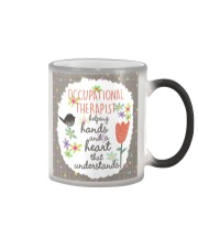 Occupational Therapist Helping Hands Color Changing Mug thumbnail