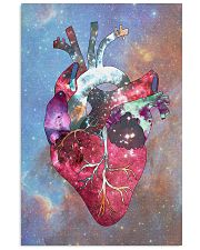 Galaxy Anatomical Heart Cardiologist 11x17 Poster front