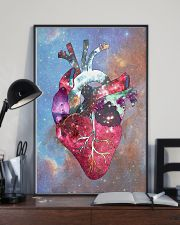 Galaxy Anatomical Heart Cardiologist 11x17 Poster lifestyle-poster-2