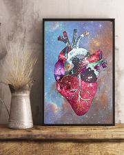 Galaxy Anatomical Heart Cardiologist 11x17 Poster lifestyle-poster-3