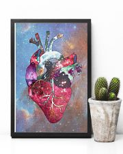 Galaxy Anatomical Heart Cardiologist 11x17 Poster lifestyle-poster-8