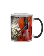 Cello Beside Music Sheet Color Changing Mug thumbnail