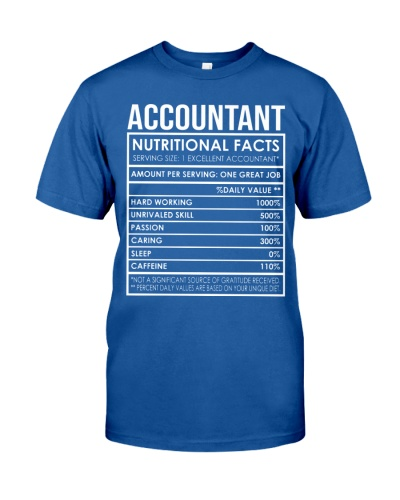 Accountant Nutritional Facts