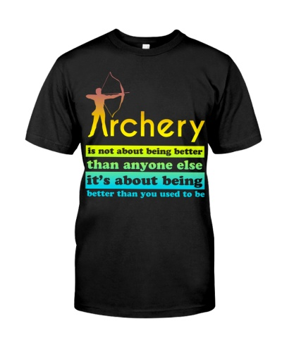 Archery - Being better than you used to be