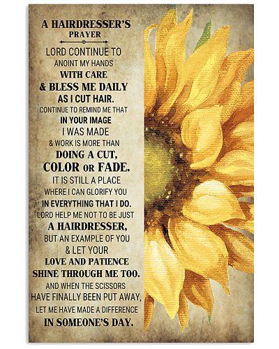 A Hairdresser's Prayer