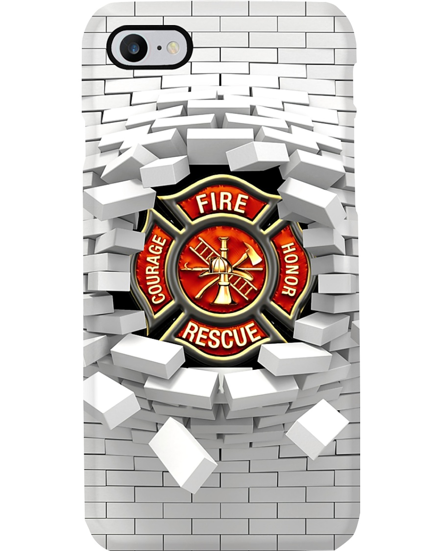 Firefighter Fire Rescue Courage Honor Phone Case