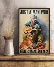 Man Loves Guitar 11x17 Poster lifestyle-poster-3