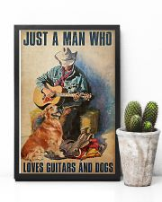 Man Loves Guitar 11x17 Poster lifestyle-poster-8
