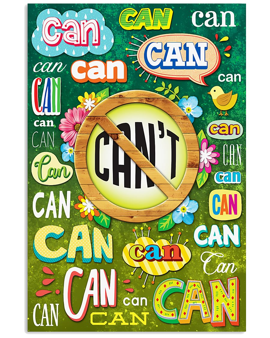 Teacher Can Or Can't 11x17 Poster