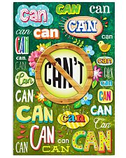 Teacher Can Or Can't 11x17 Poster front