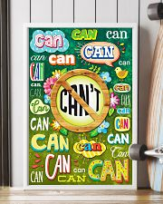 Teacher Can Or Can't 11x17 Poster lifestyle-poster-4