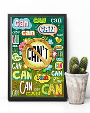 Teacher Can Or Can't 11x17 Poster lifestyle-poster-8