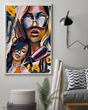 Hairdresser Art Girls 11x17 Poster lifestyle-poster-1