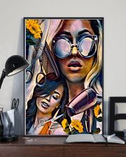 Hairdresser Art Girls 11x17 Poster lifestyle-poster-2