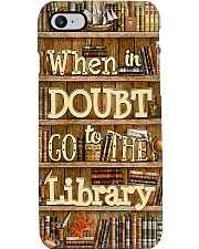 Librarian When In Doubt Go To The Library Phone Case i-phone-7-case
