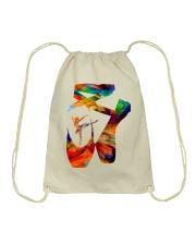 Ballet Abstract Drawstring Bag thumbnail