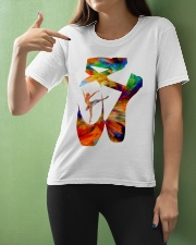 Ballet Abstract Ladies T-Shirt apparel-ladies-t-shirt-lifestyle-front-10