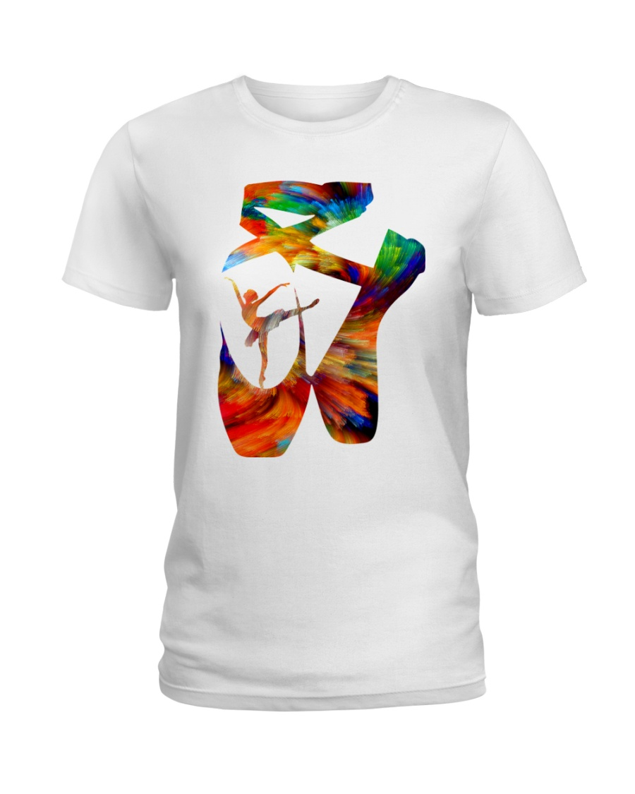 Ballet Abstract Ladies T-Shirt