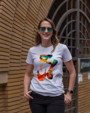 Ballet Abstract Ladies T-Shirt lifestyle-women-crewneck-front-2