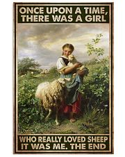 Farmer A Girl Who Really Loved Sheep  11x17 Poster front